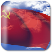 USSR Flag Live Wallpaper