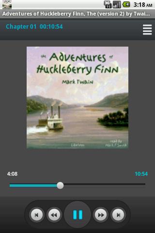 Audiobook: Huckleberry Finn