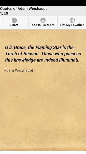 Quotes of Adam Weishaupt