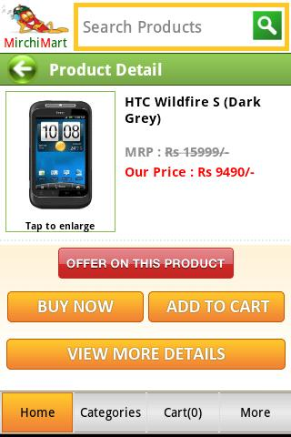Mirchimart- screenshot