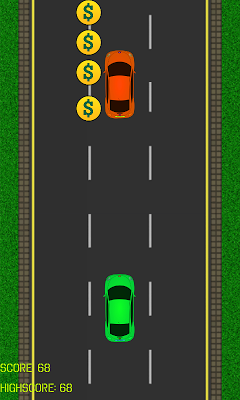 Driving in traffic - screenshot