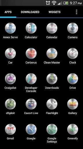 Metal Circles Apex Icon Pack