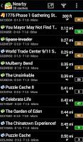 Screenshot of c:geo