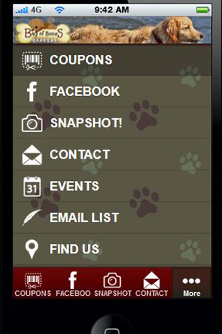 The Barkery App- screenshot