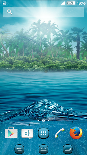 Theme eXPERIAnz Fantasy Island