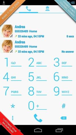 Swipe Dialer Pro Screenshot