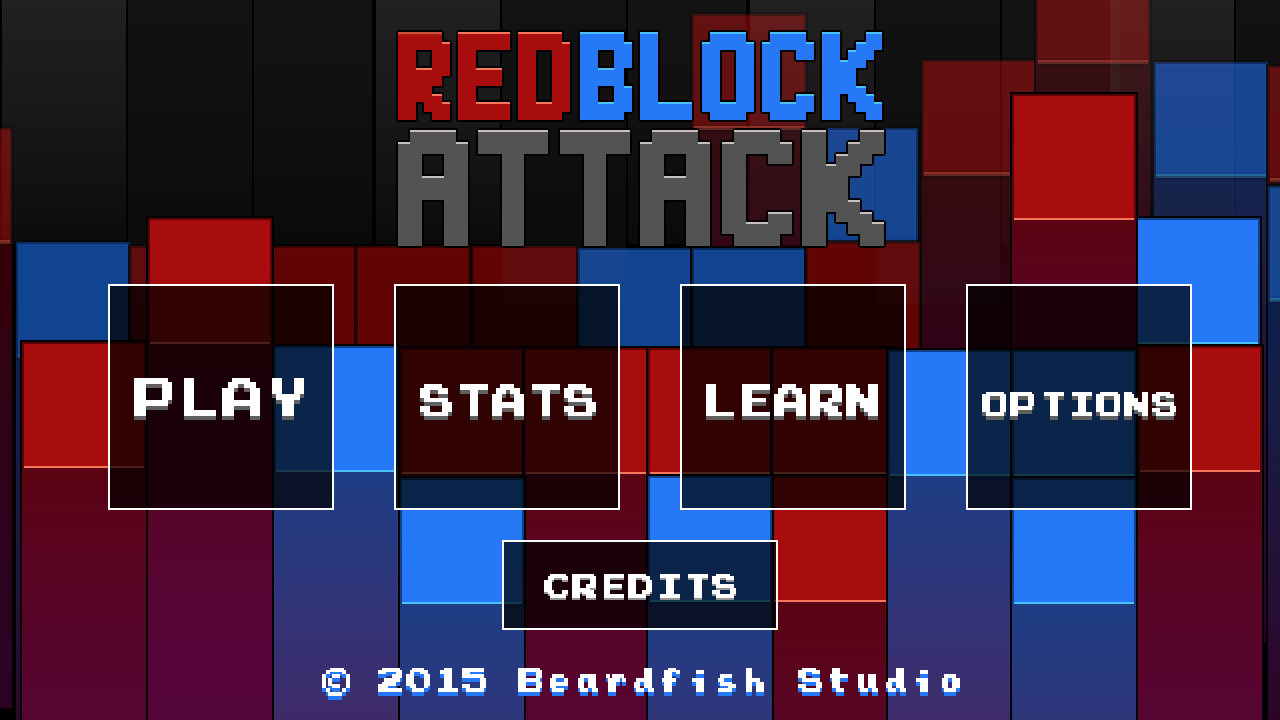 Red Block Attack- screenshot