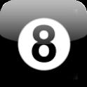 Bola 8 español con voz logo
