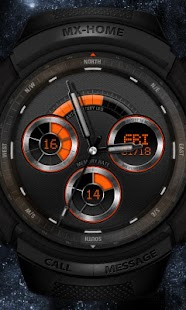Sports Watch MXHome Theme - screenshot thumbnail