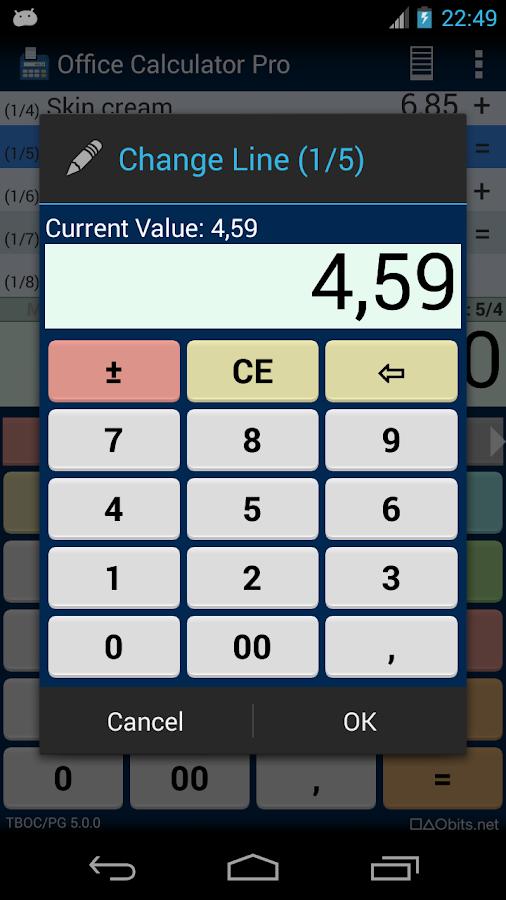 Office Calculator Pro - screenshot