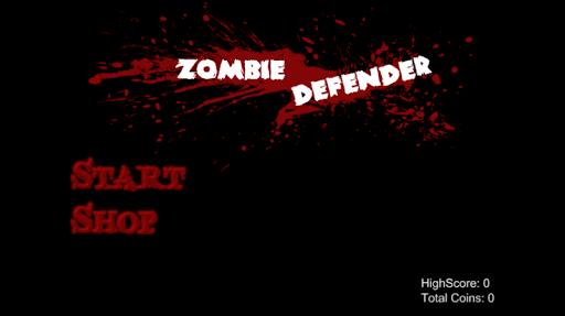 Zombie Defender