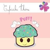 Go Launcher Ex Cupcake Theme