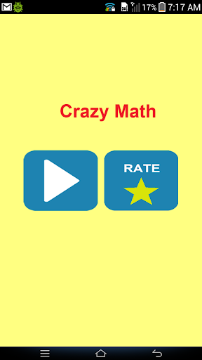 Crazy Math : Brain test