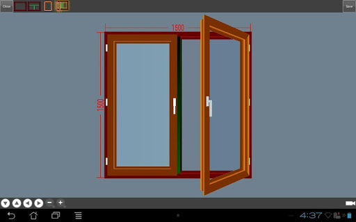 Pencep window drawing program app app for Windows drafting software
