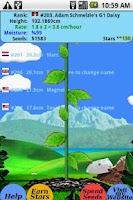 Screenshot of Origami Rose: virtual flower