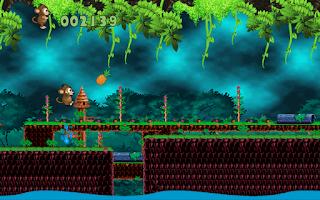 Screenshot of Jungle Monkey 2