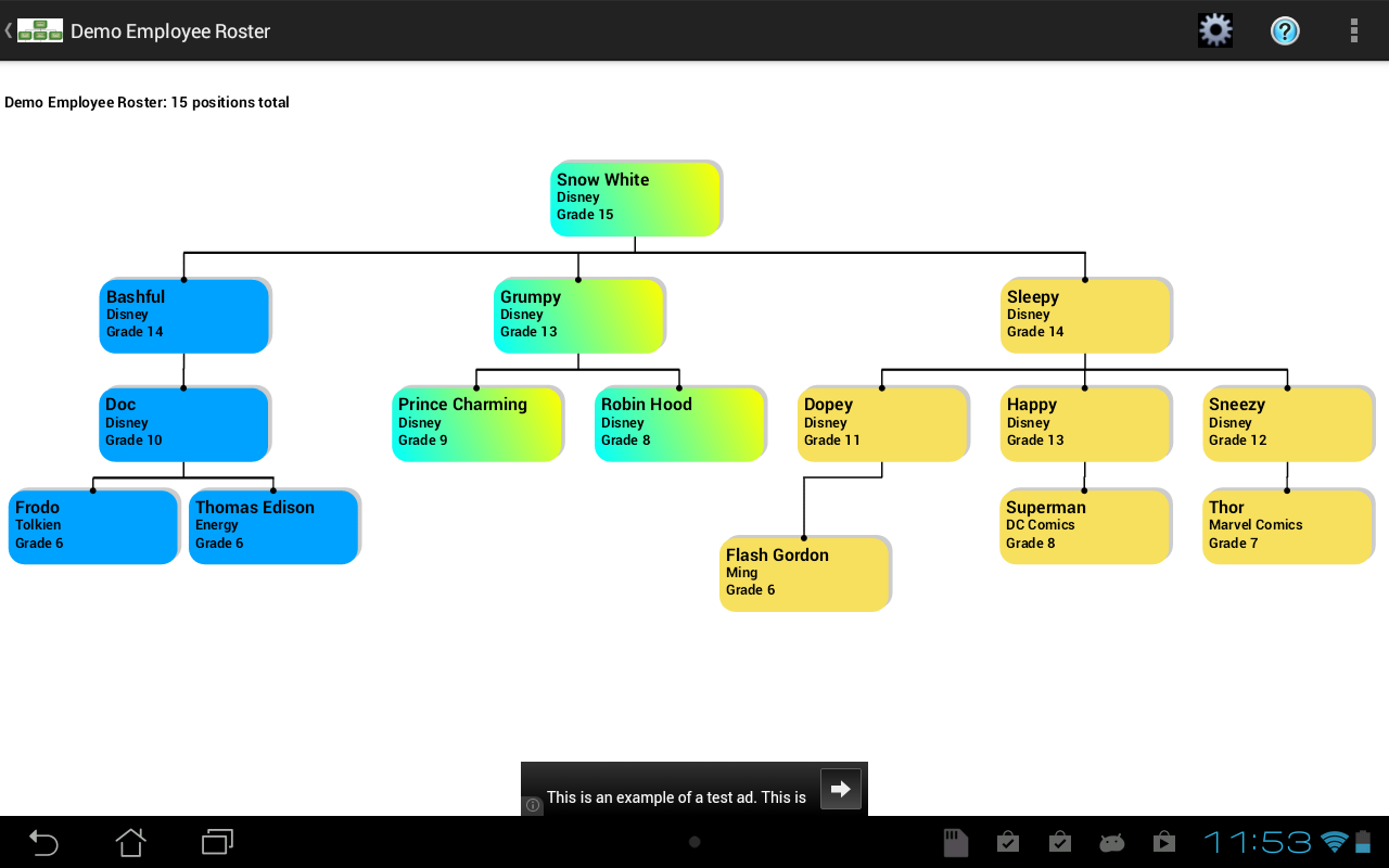 Org Chart Template Google Docs - Org charts android apps on google ...