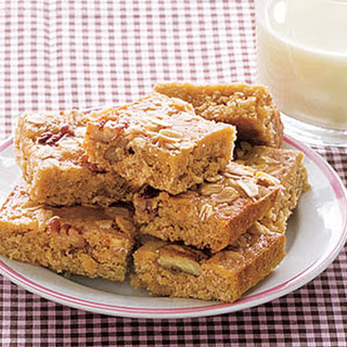 Pecan Blondies.