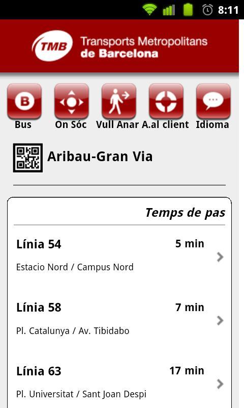 9TMB iBus Barcelona- screenshot