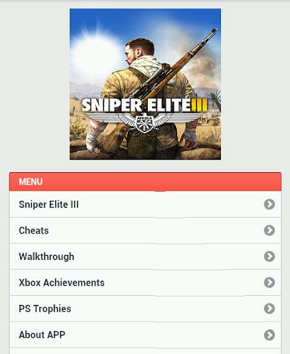 Sniper Elite III Guide