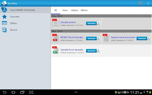 Cisco MCMS Agent - screenshot thumbnail