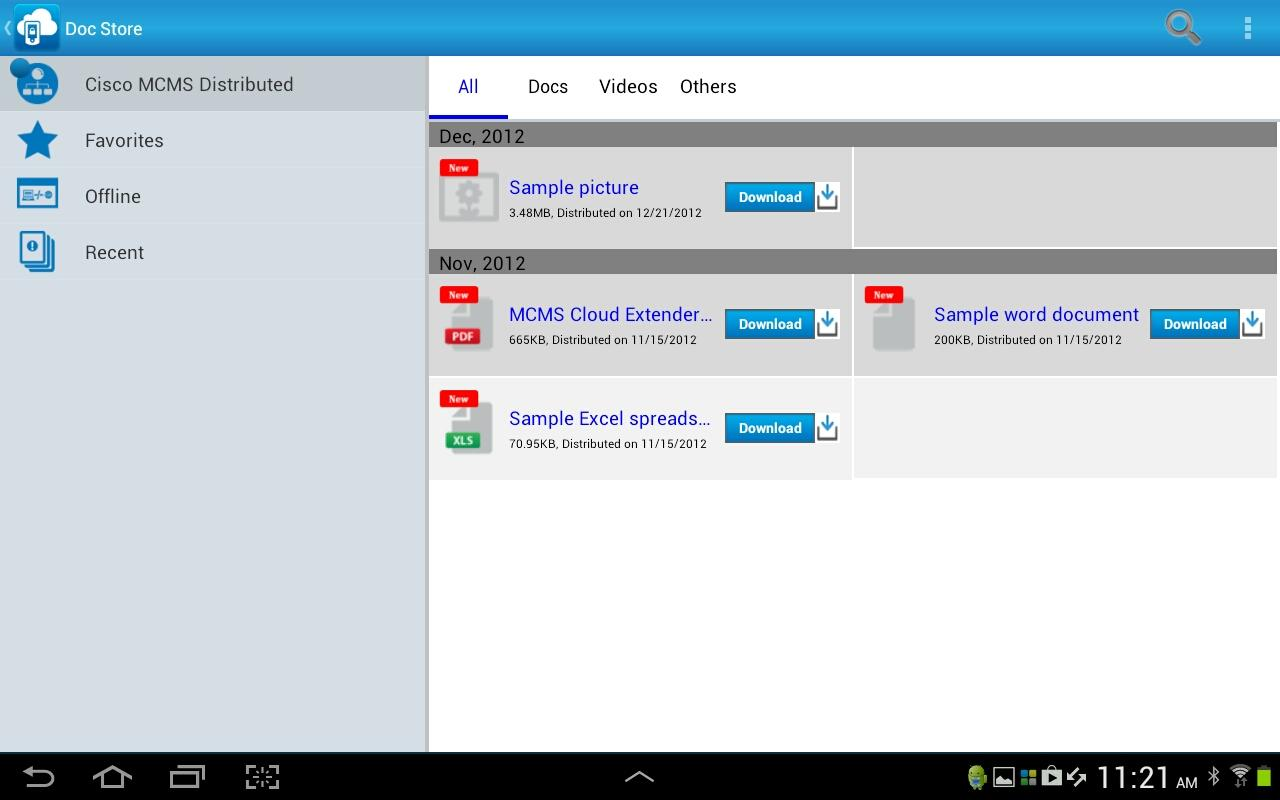 Cisco MCMS Agent - screenshot
