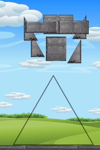 Building Game with Physics - screenshot