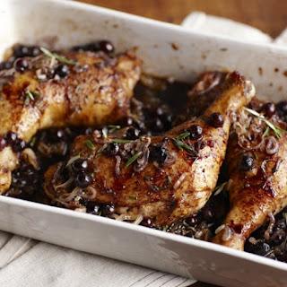 Blueberry-Balsamic Glazed Rosemary Chicken
