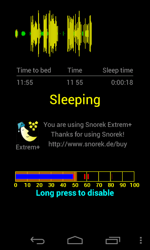 Stop snoring for wearables  screenshots 1