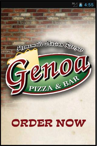 Genoa Pizza & Bar- screenshot