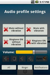 Quick audio settings- screenshot thumbnail