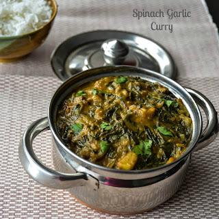 Spinach Garlic Curry