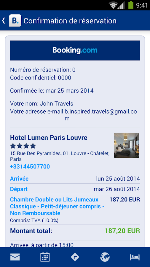 Booking.com - 600 000+  hôtels - screenshot