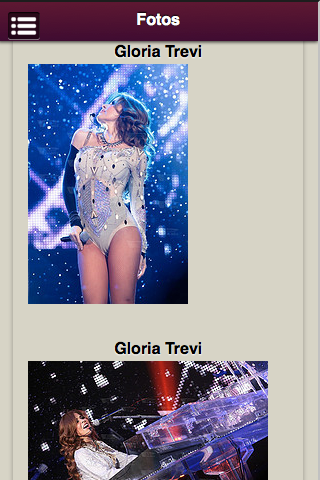 Gloria Trevi - screenshot