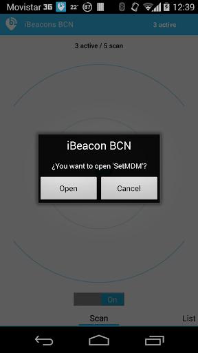 iBeacons BCN  screenshots 4
