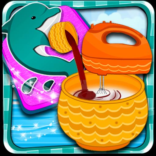 美しいイルカケーキ 休閒 App LOGO-APP試玩