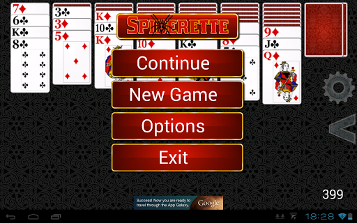 無料纸牌AppのSpideretteソリティアHD|記事Game