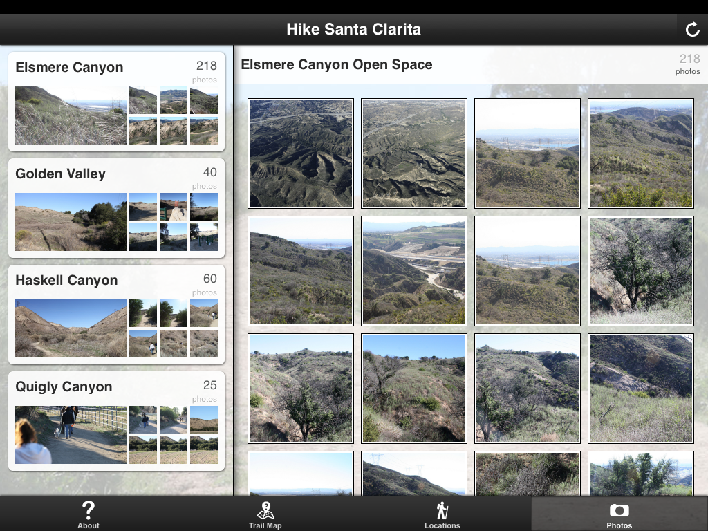 Hike SC - screenshot