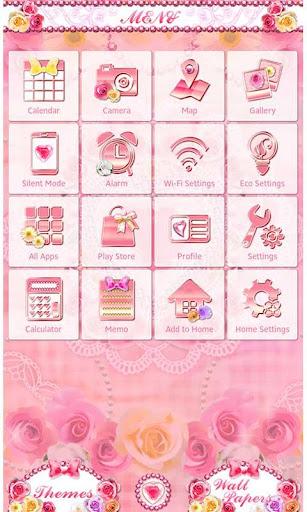 Cute Theme Glittery Romance 1.0 Windows u7528 3