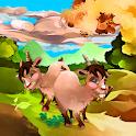 Llama goats logo