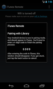 iTunes Remote - screenshot thumbnail