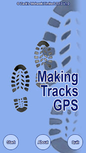 Making Tracks GPS- screenshot thumbnail