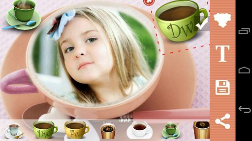 Coffee Mug Photo Frame