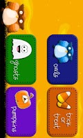 Screenshot of Halloween Memory Game