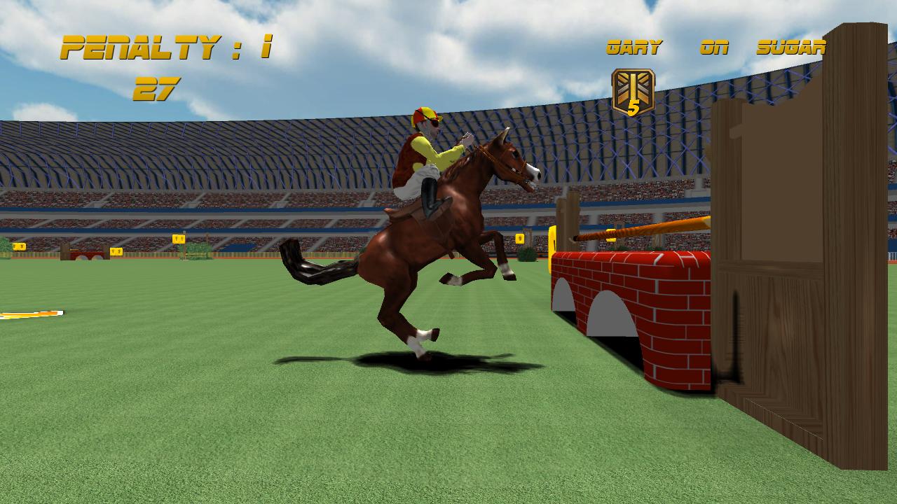 Show Jumping Horses Show Jumping Screenshot