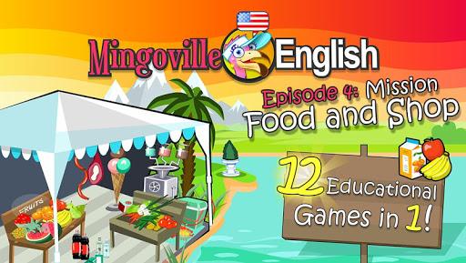 儿童英语 4:Mingoville中的'食物和商店'