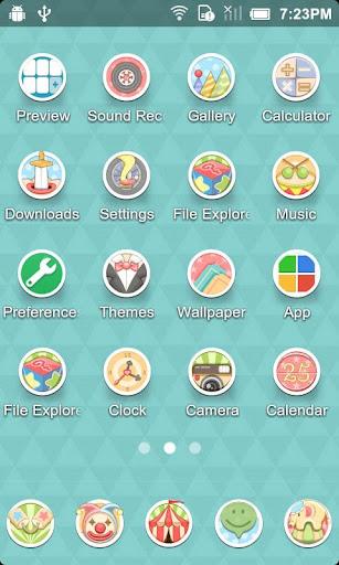 马戏团_Turbo EX主題|玩個人化App免費|玩APPs