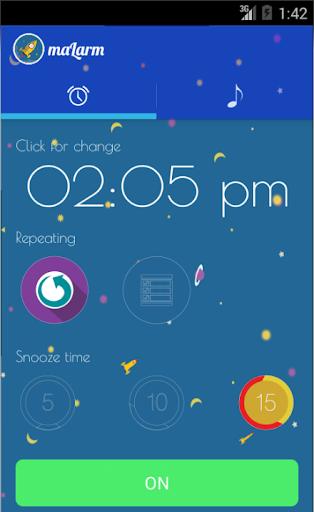 maLarm - Alarm clock