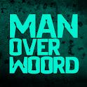 Man over woord- dialectenapp. logo