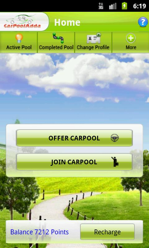 CarpoolAdda -Realtime carpool- screenshot